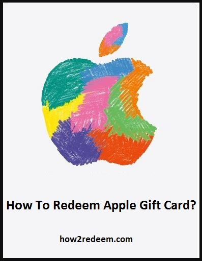 How To Redeem Apple Gift Card