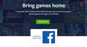 How To Redeem Facebook Game Card